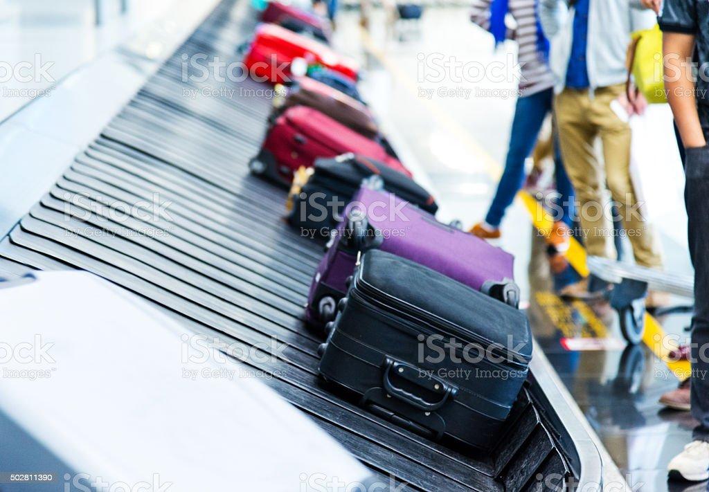 Luggages stock photo