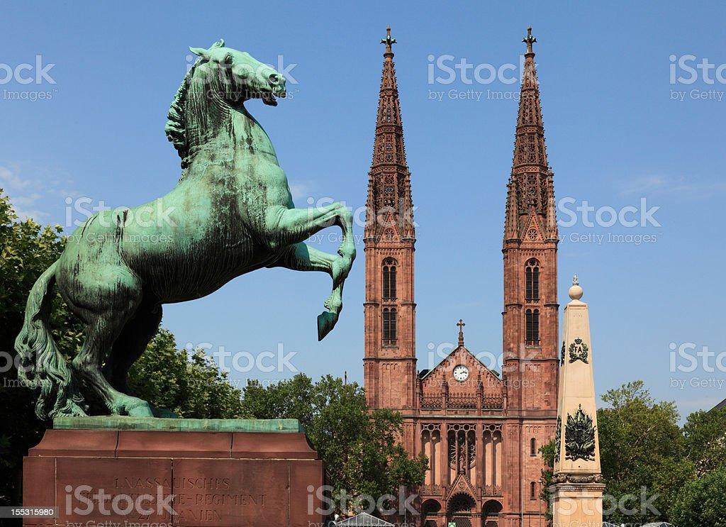 Luisenplatz royalty-free stock photo
