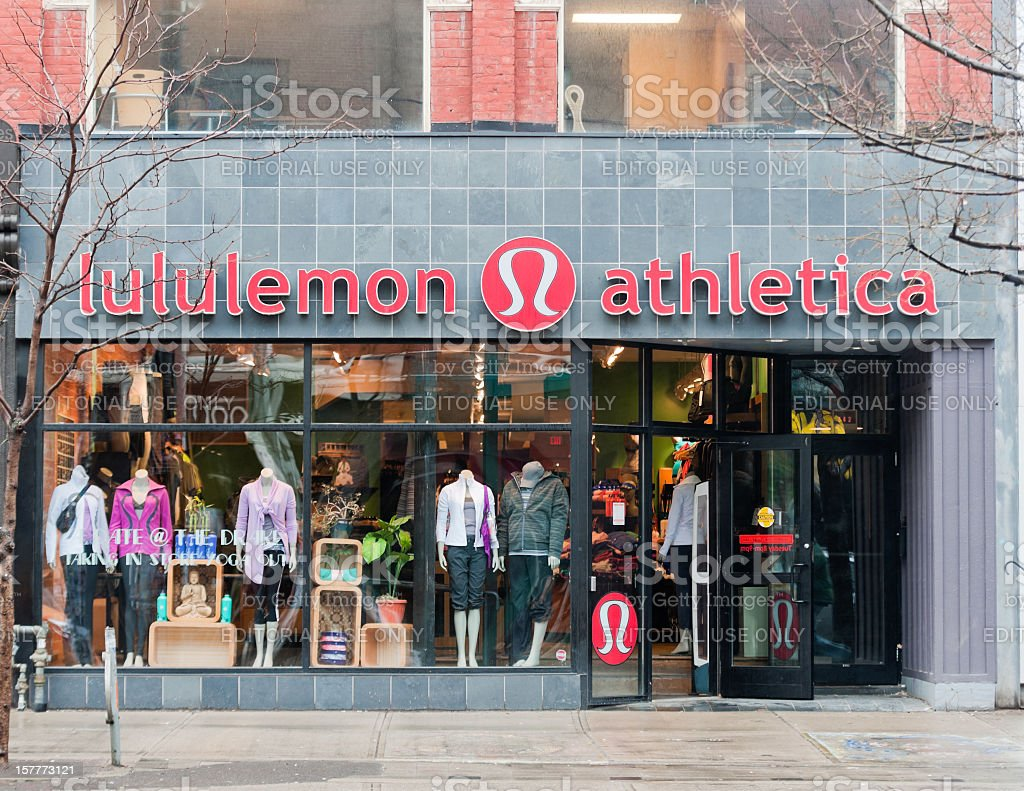 Lululemon royalty-free stock photo