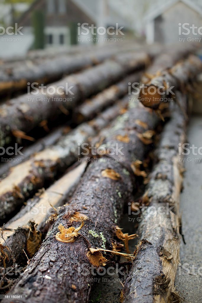 Lumber Industry royalty-free stock photo