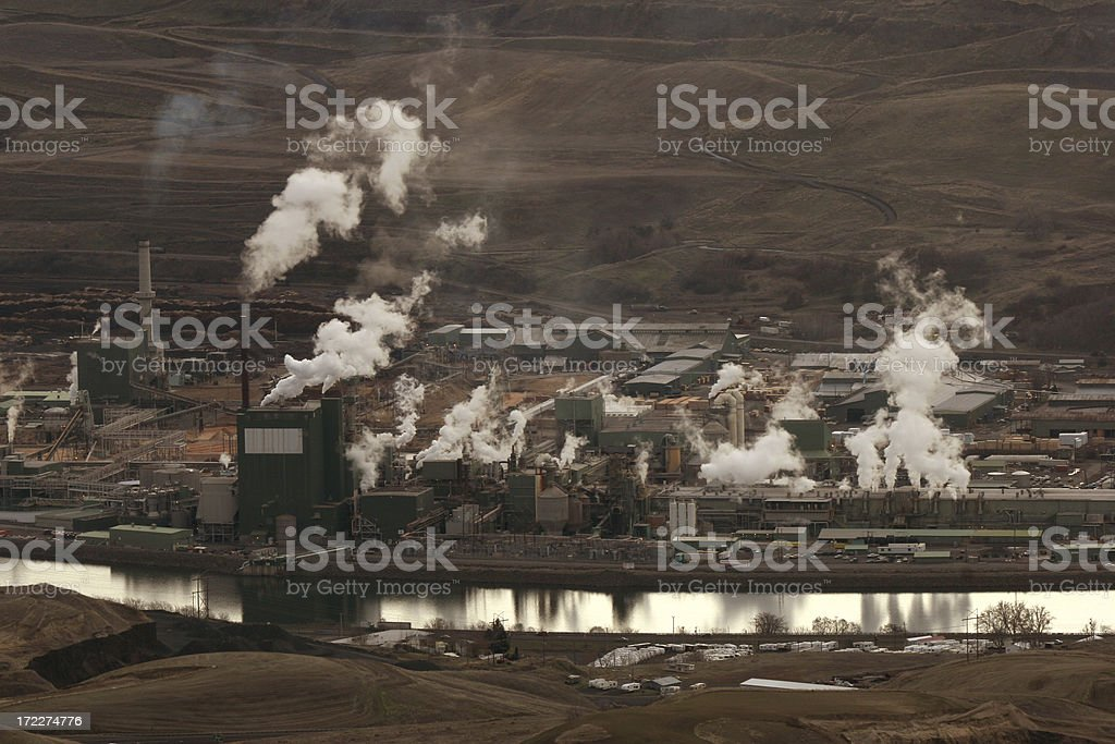 lumber mill royalty-free stock photo