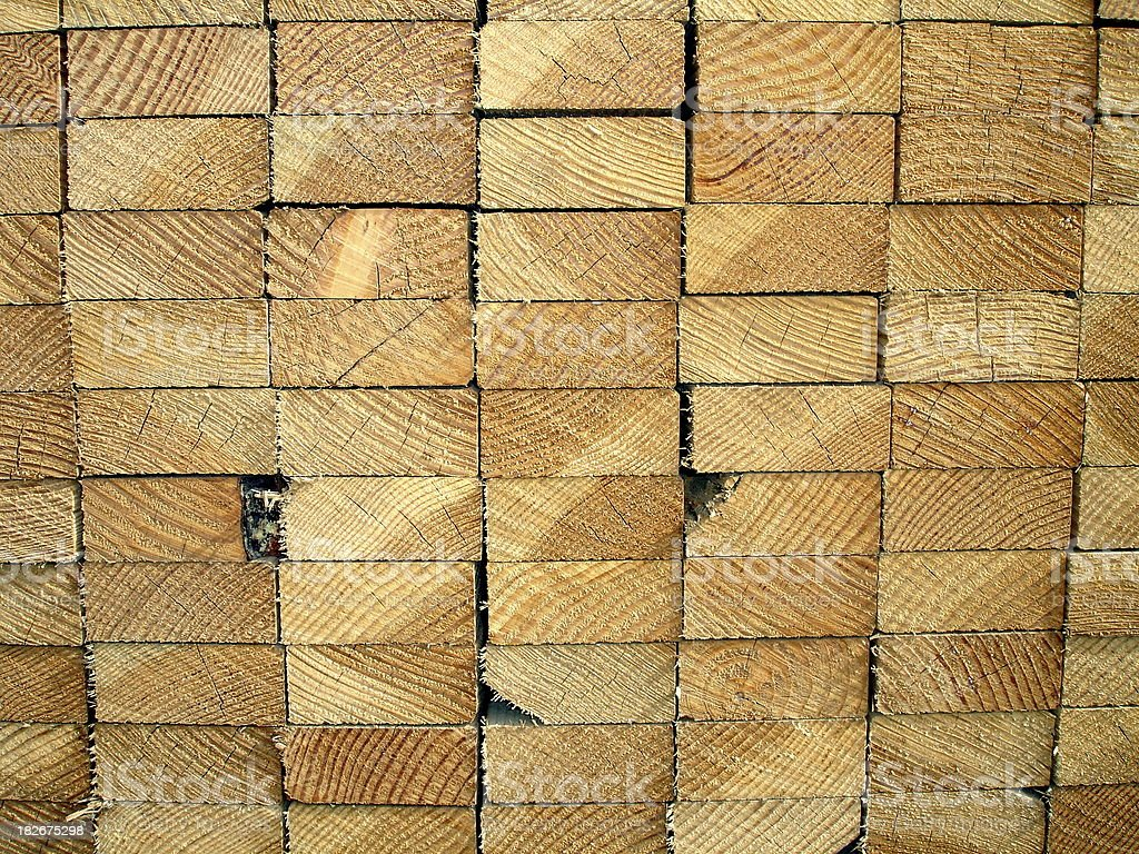 Lumber royalty-free stock photo