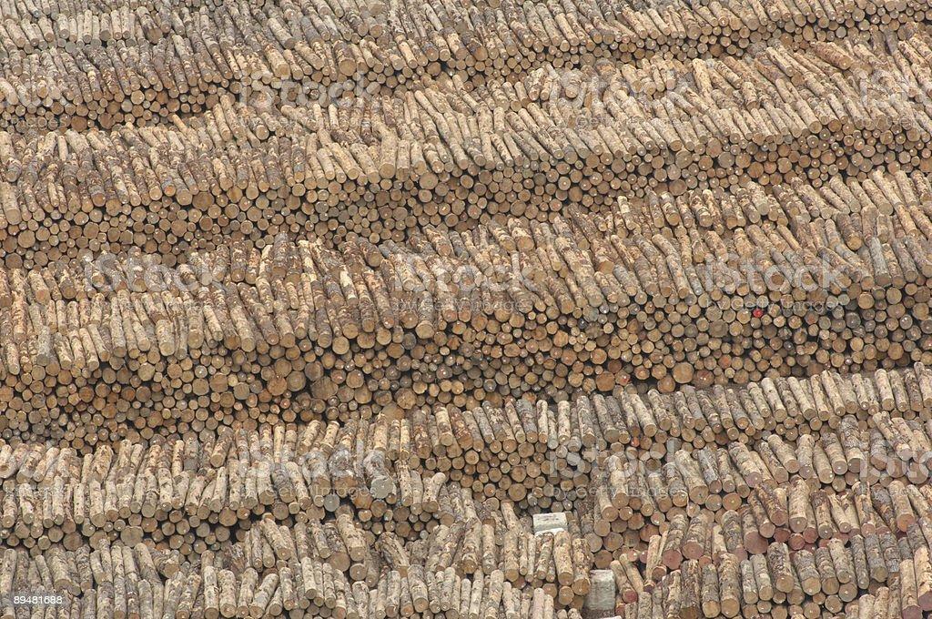 Lumber Yard, Gisborne, New Zealand stock photo
