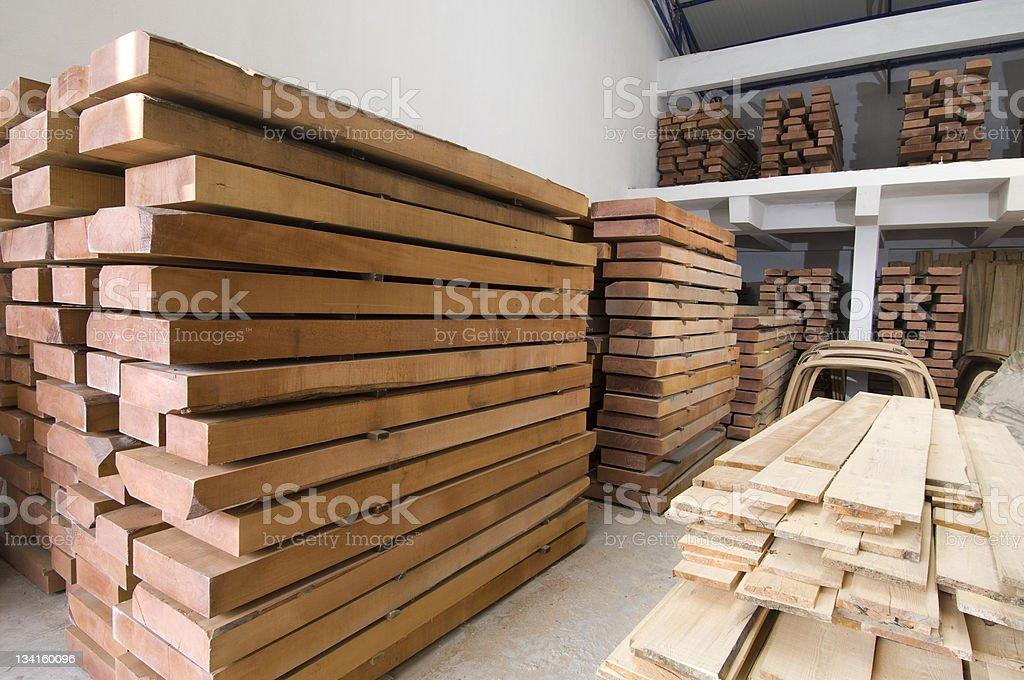 Lumber yard stock photo
