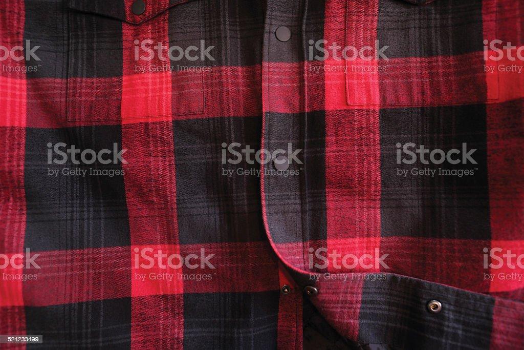 lumberjack shirt stock photo