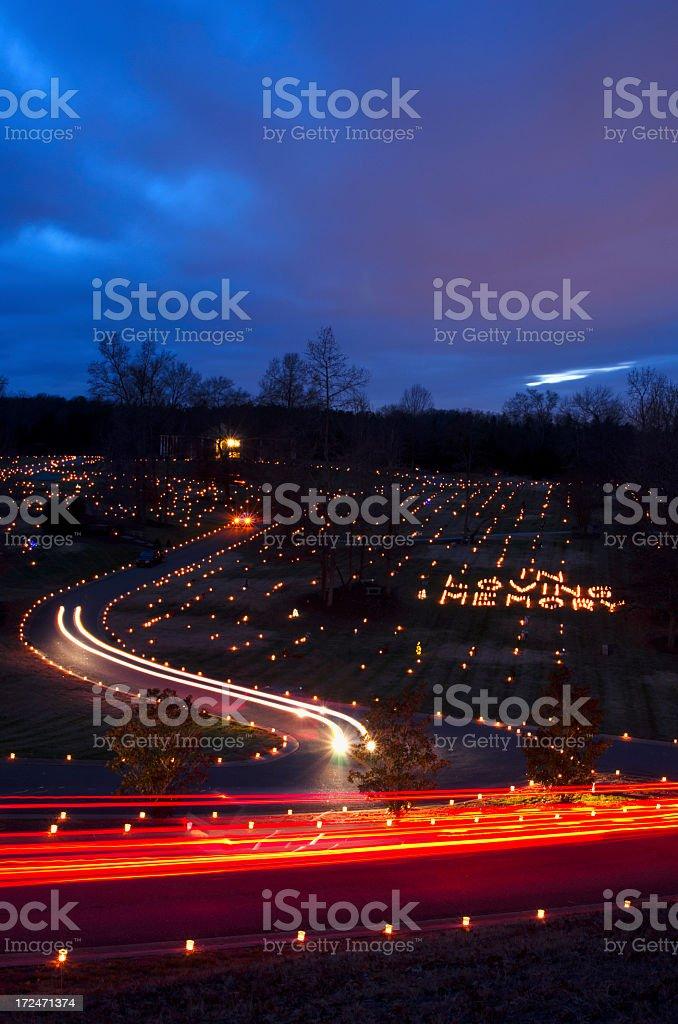 Luminaries royalty-free stock photo