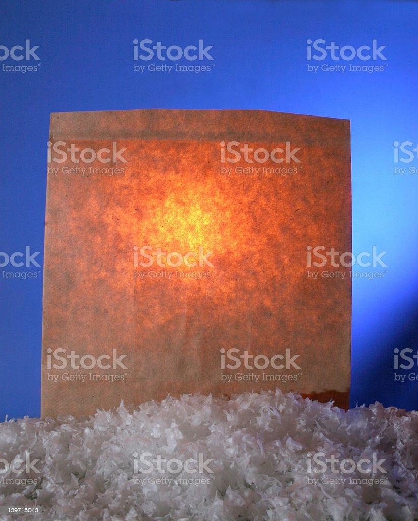 Luminary royalty-free stock photo