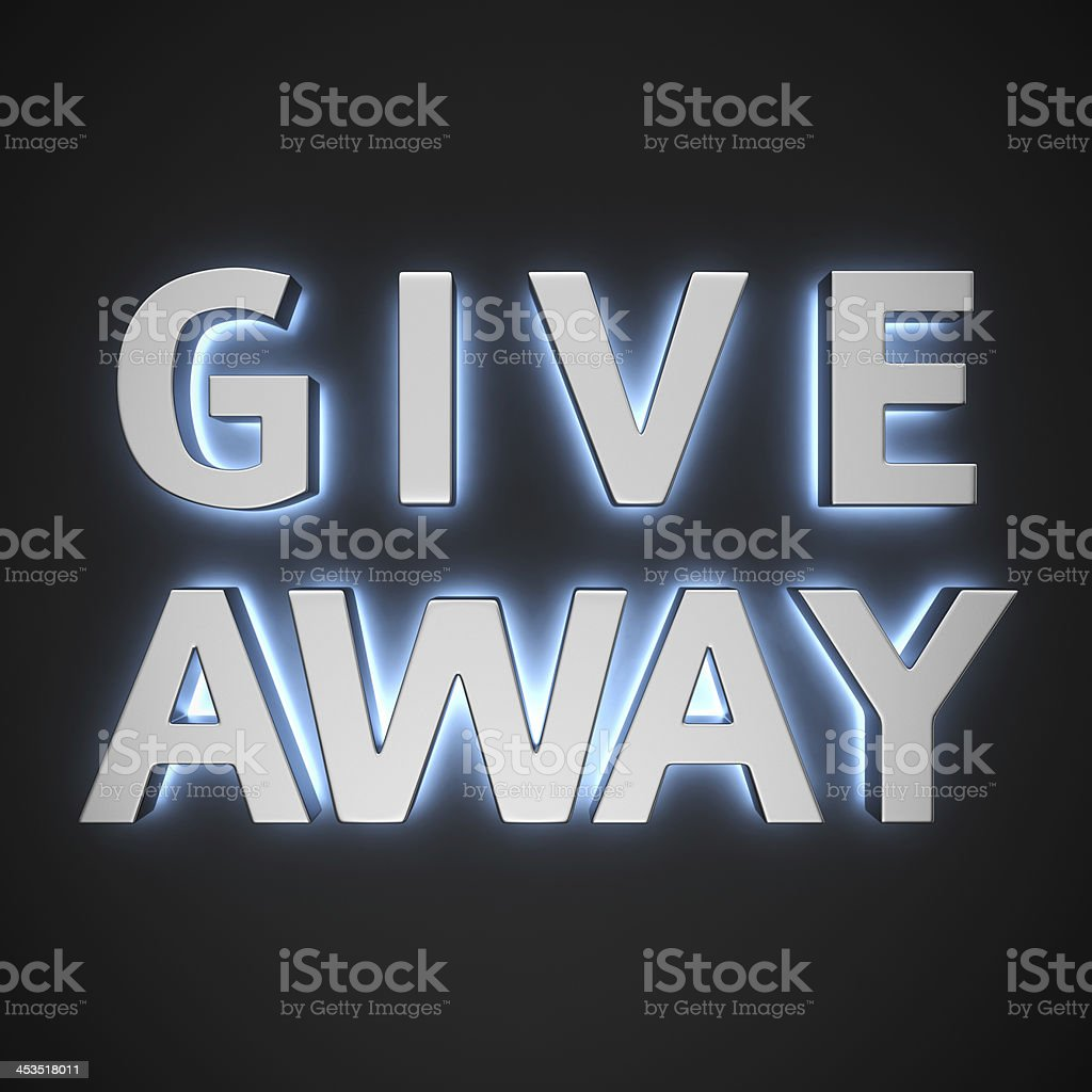 Luminous Give away royalty-free stock photo