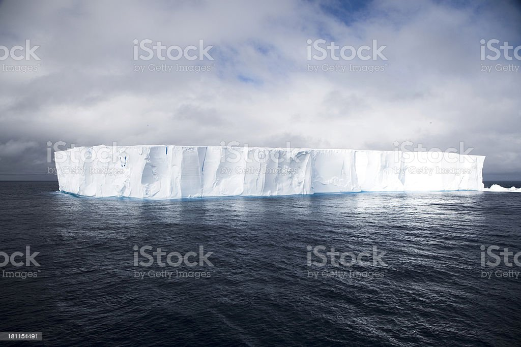 Luminous Iceberg stock photo