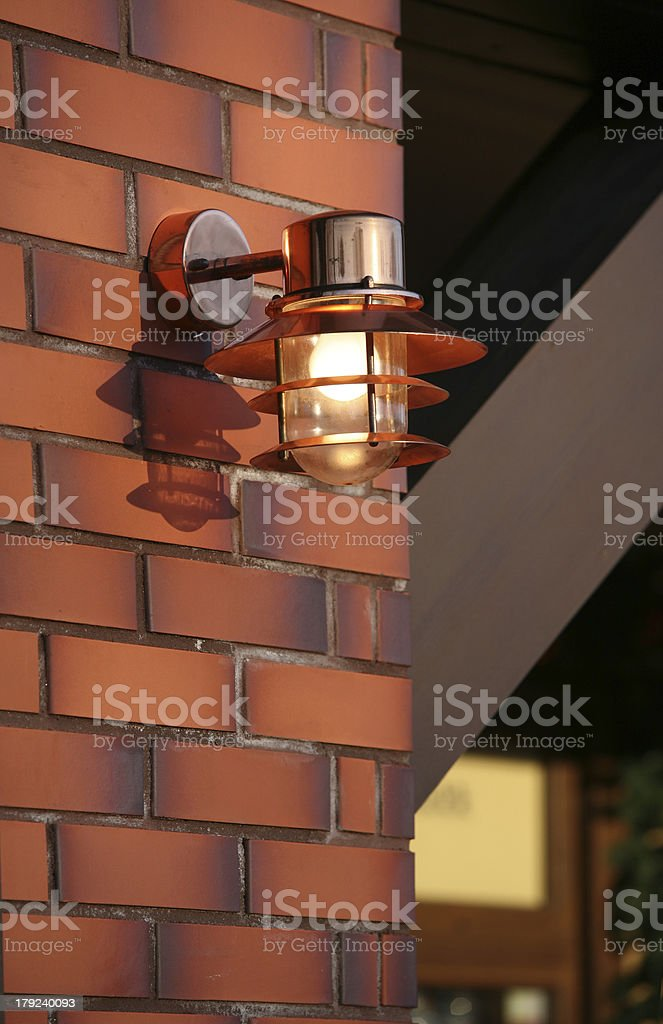 Luminous lantern royalty-free stock photo