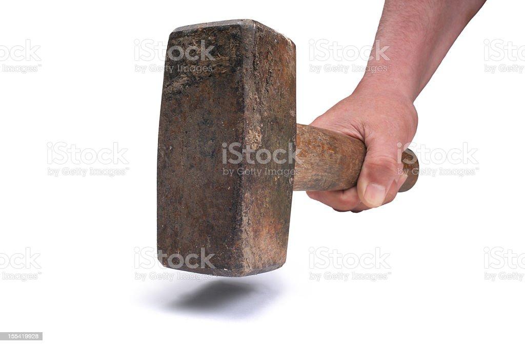Lump Hammer stock photo