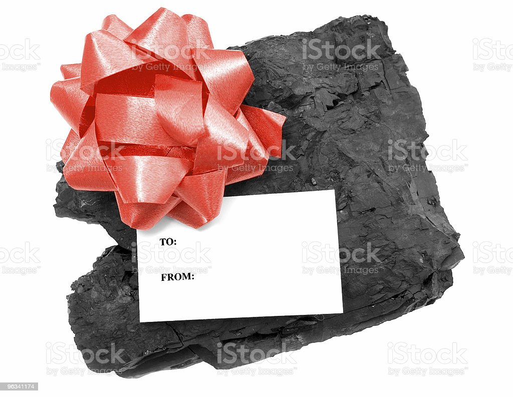Lump of Coal royalty-free stock photo