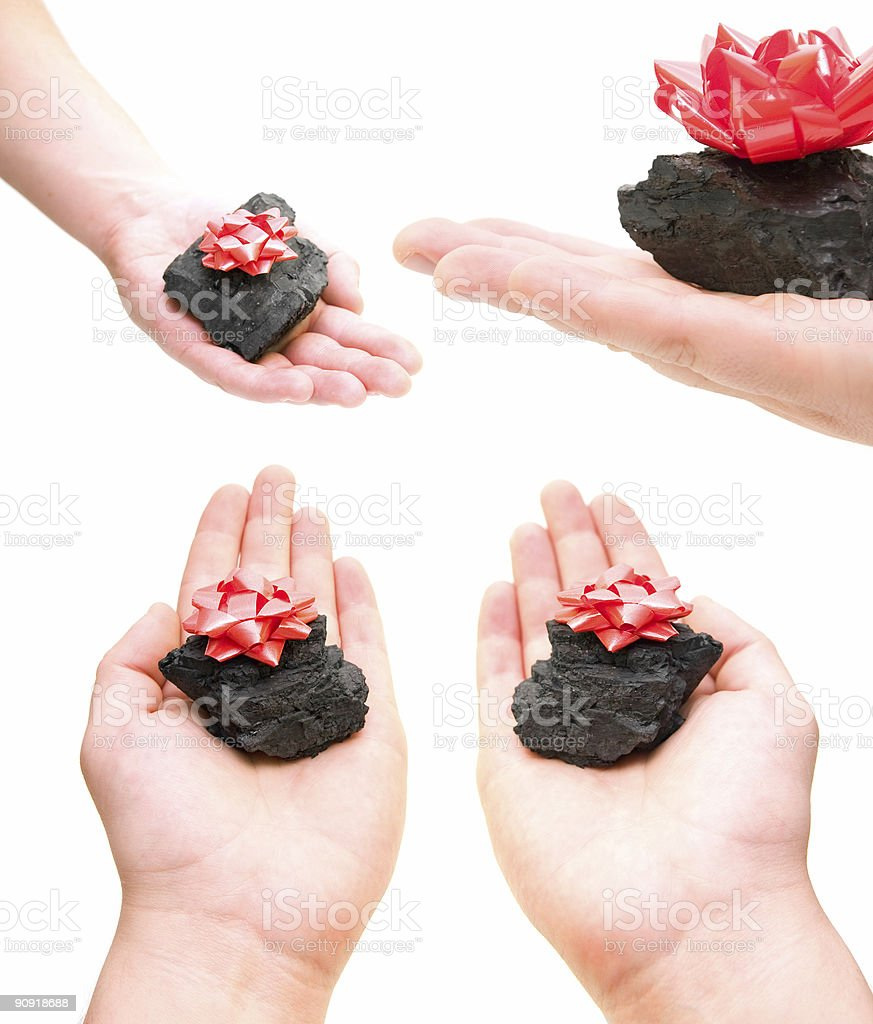 Lumps of Coal royalty-free stock photo