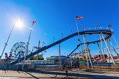 Luna Park in Coney Island, NYC