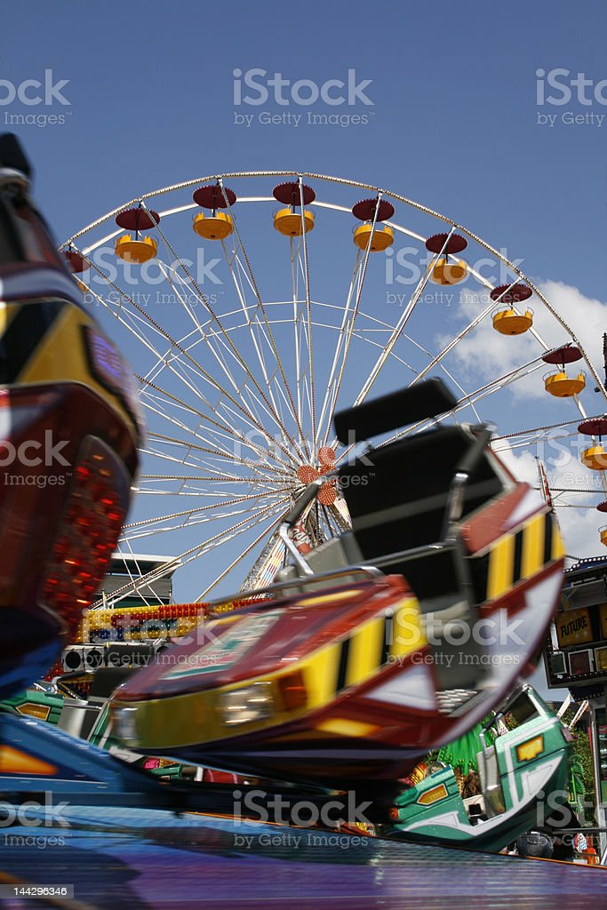 luna park royalty-free stock photo