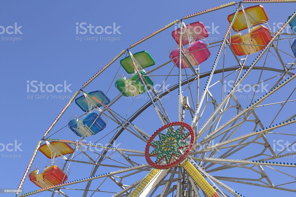Luna Park stock photo