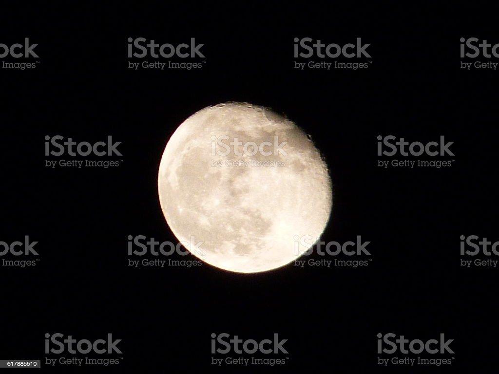 Luna stock photo