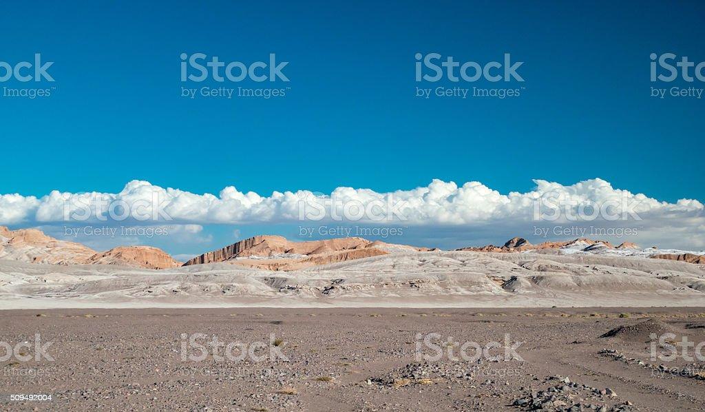 Luna Vall in San Pedro de Atacama royalty-free stock photo