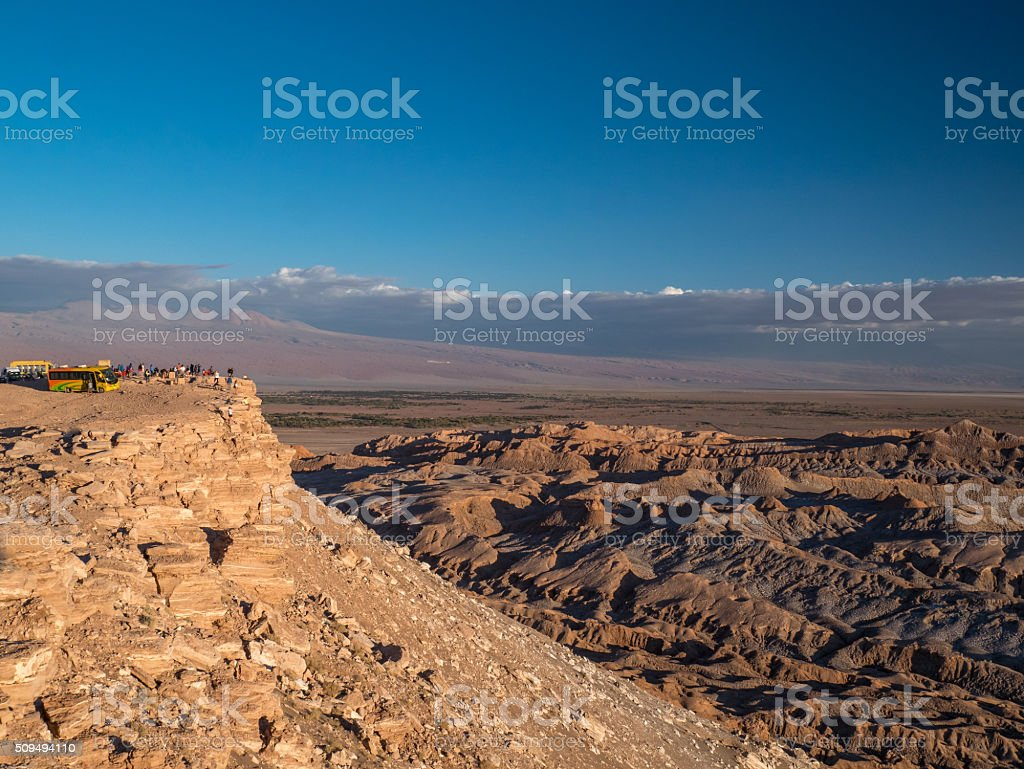 Luna Vall in San Pedro de Atacama royalty-free stock photo