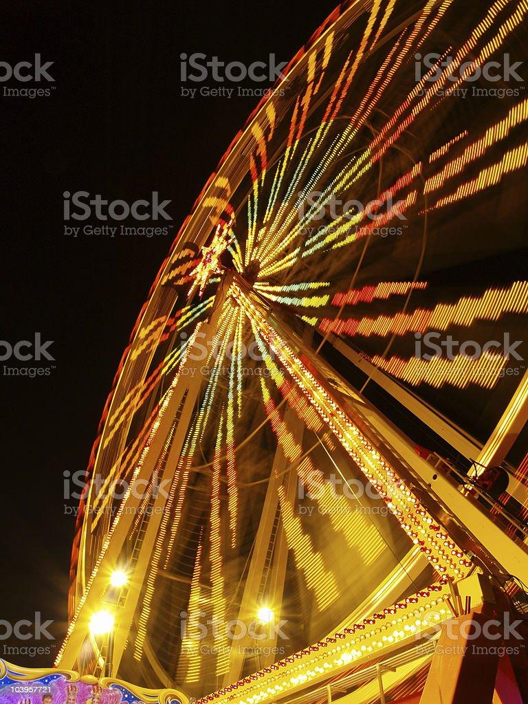 lunapark at night #1 royalty-free stock photo