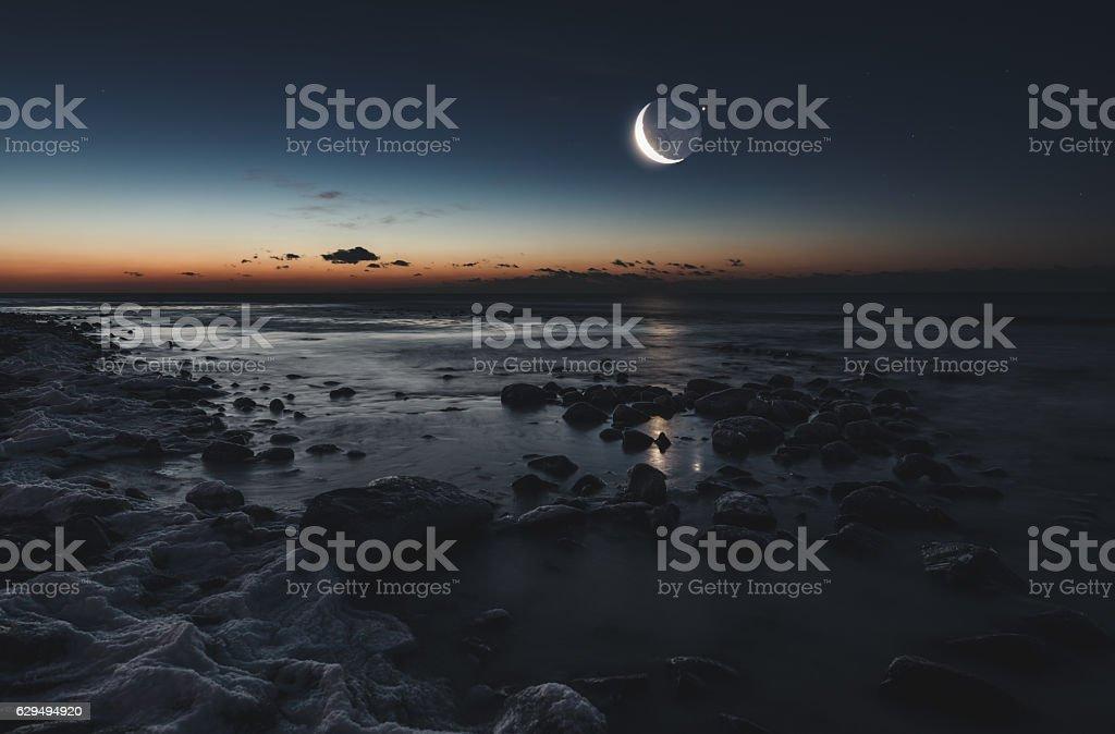 Lunar Gravity stock photo