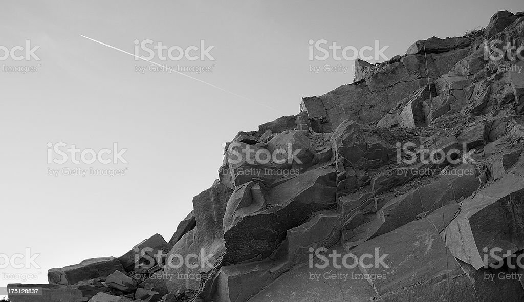 Lunar site royalty-free stock photo