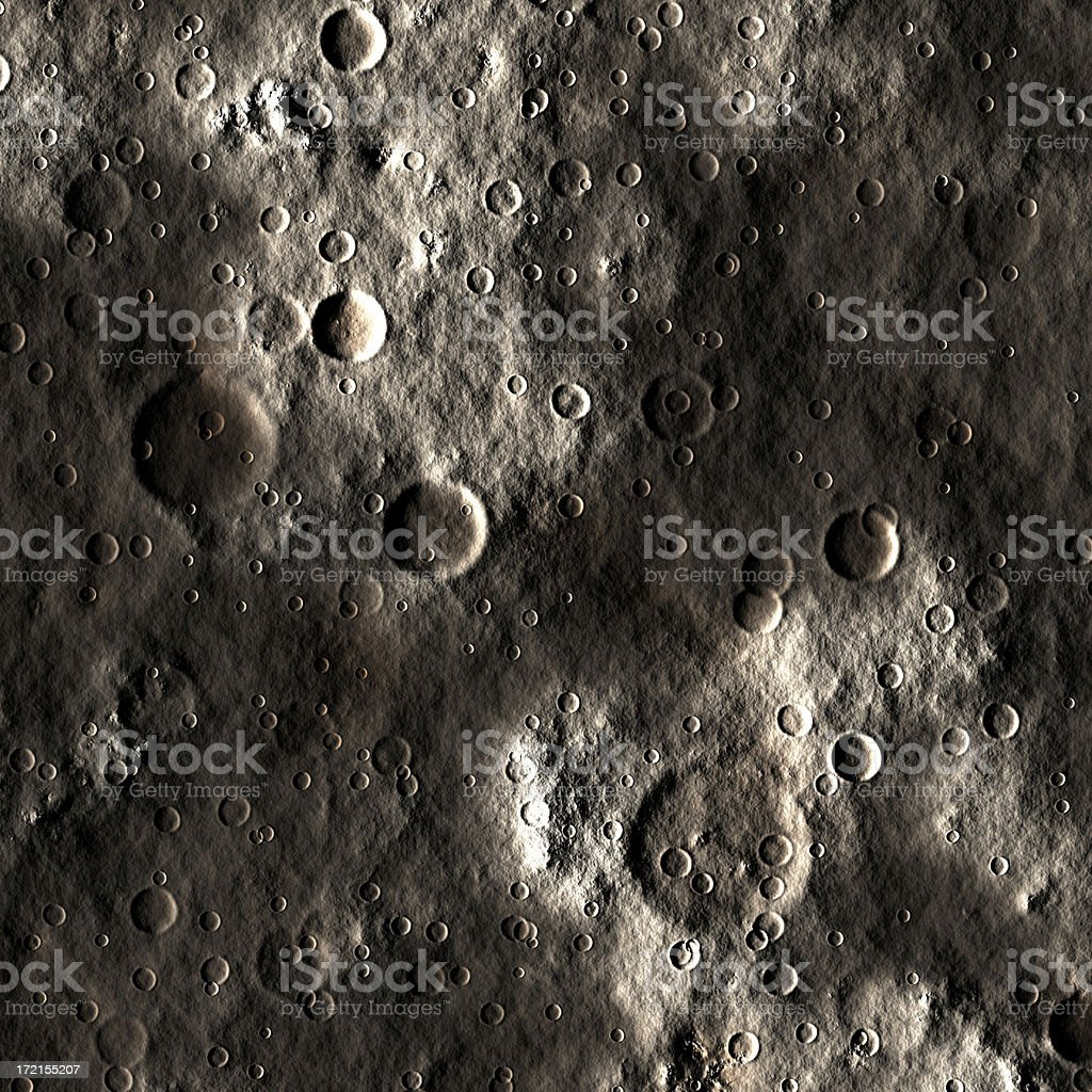 Lunar Surface royalty-free stock photo