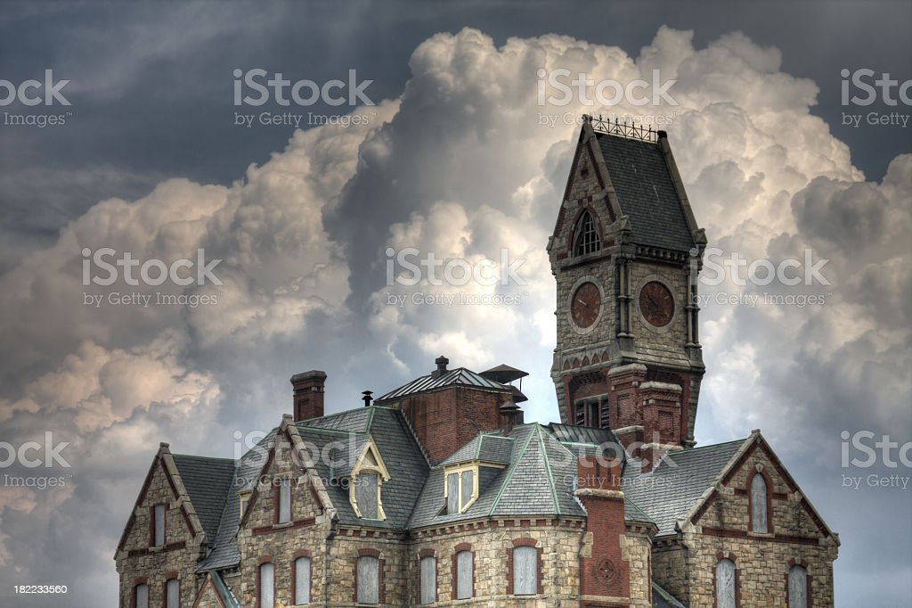 Lunatic Hospital stock photo