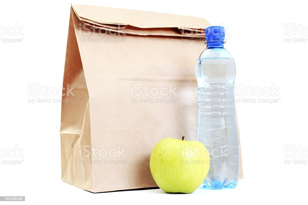 lunch bag royalty-free stock photo