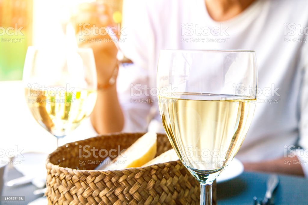 Lunch break during summer royalty-free stock photo