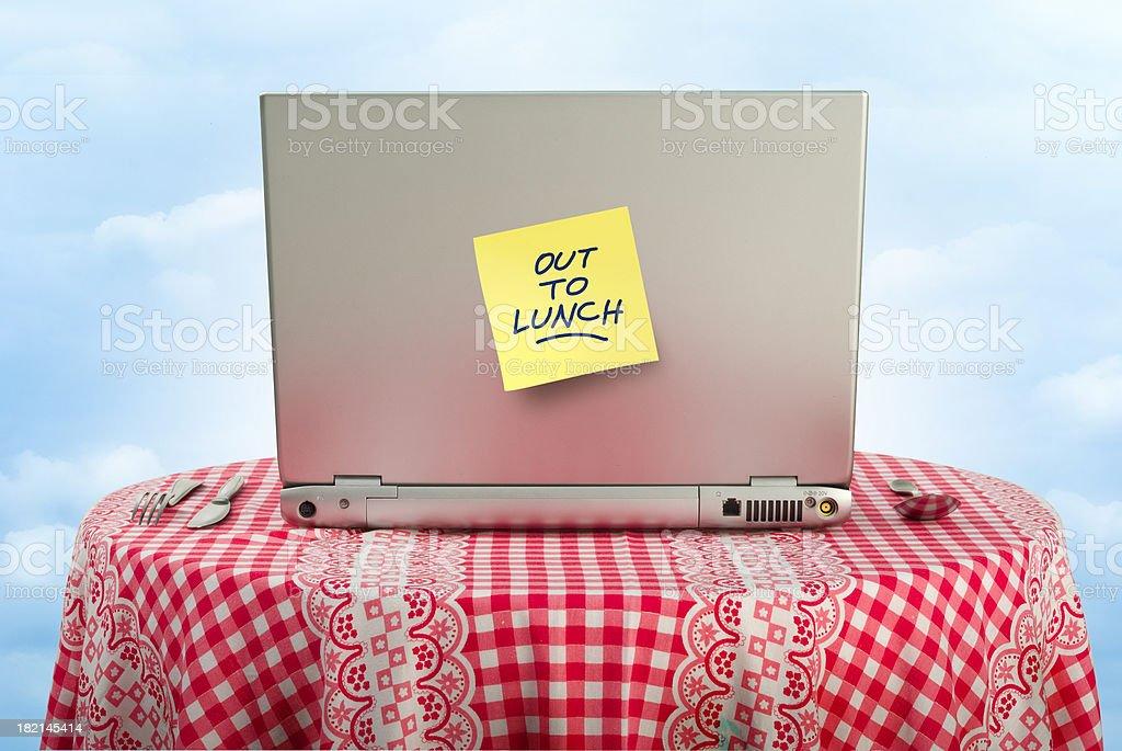 Lunch break royalty-free stock photo