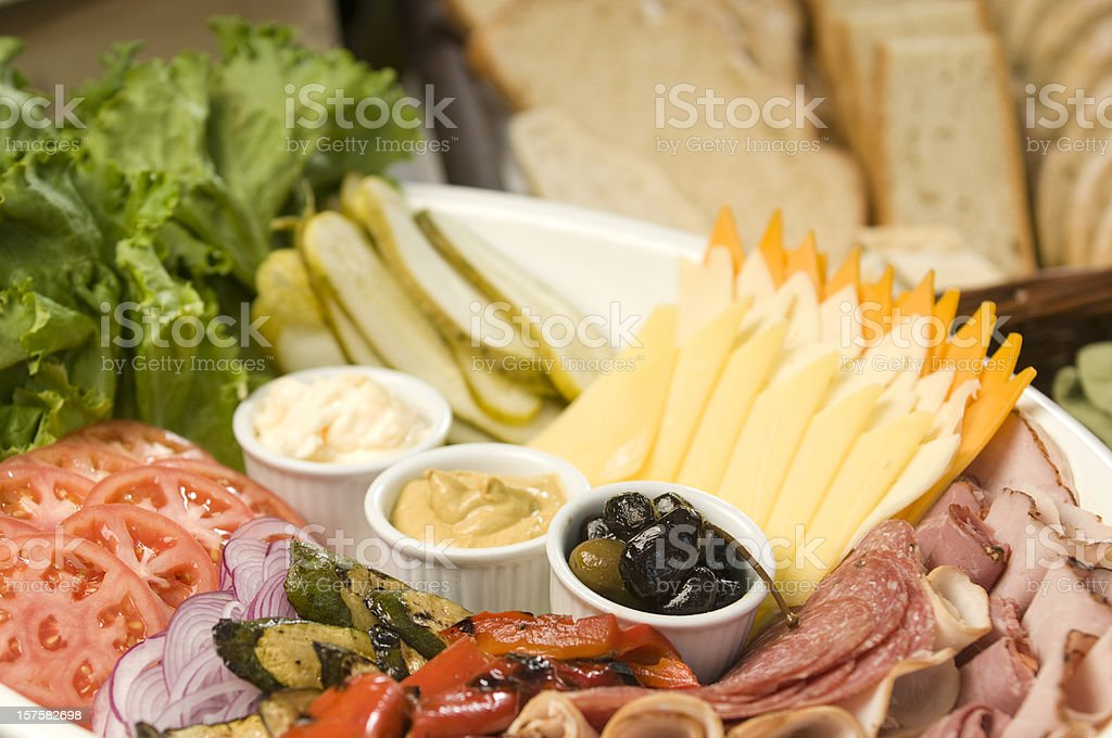 Lunch Buffet stock photo
