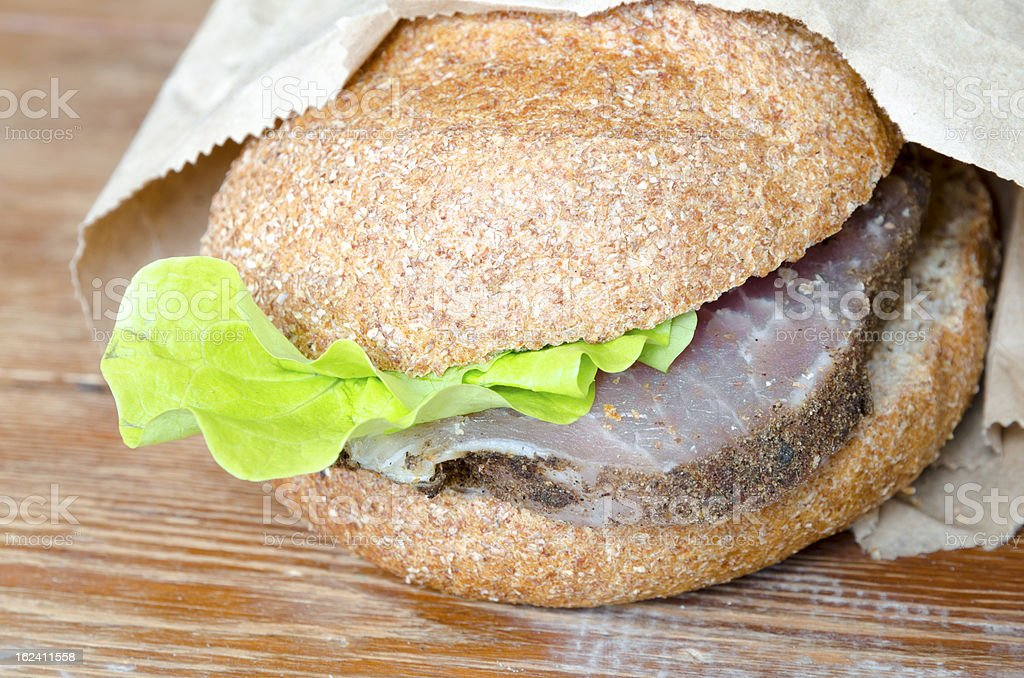 lunch burger royalty-free stock photo