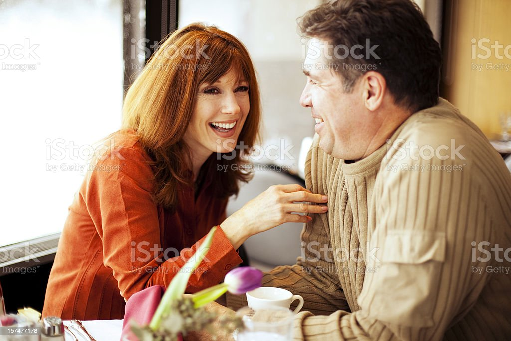 Lunch Date royalty-free stock photo