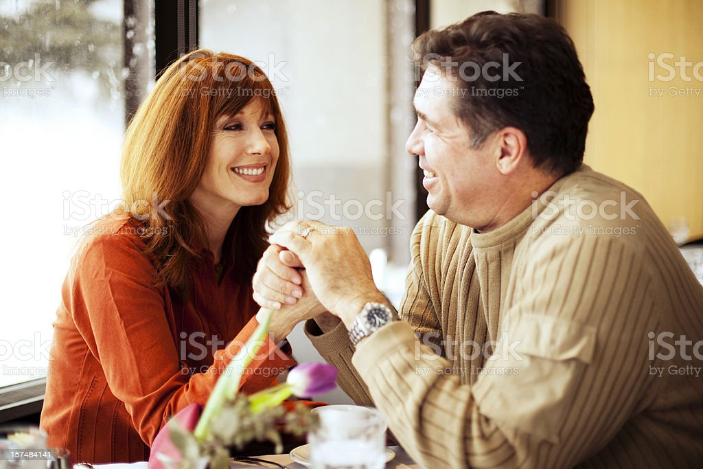 Lunch Date stock photo