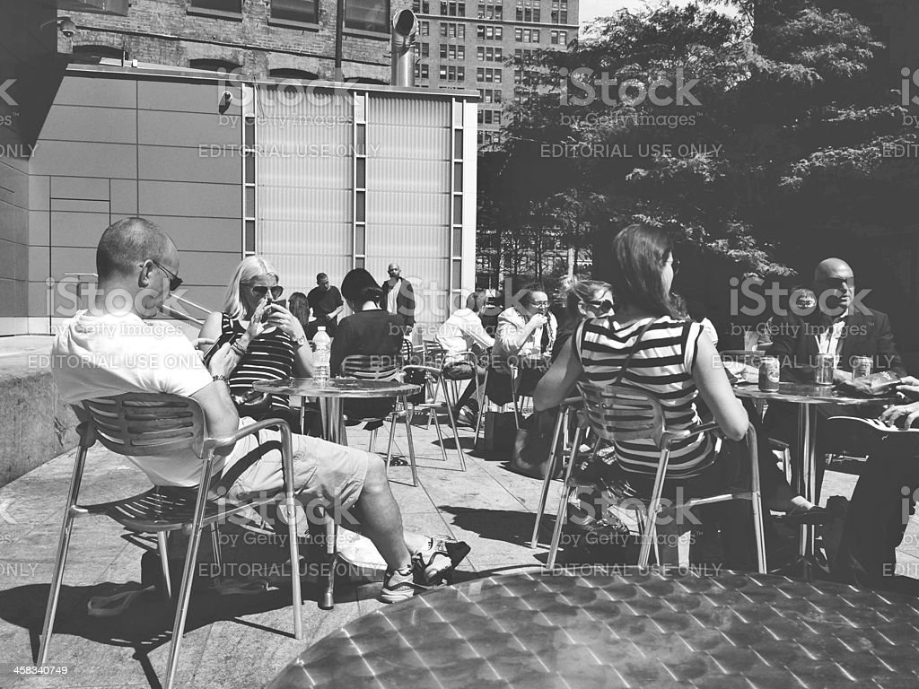 Lunch in the City royalty-free stock photo