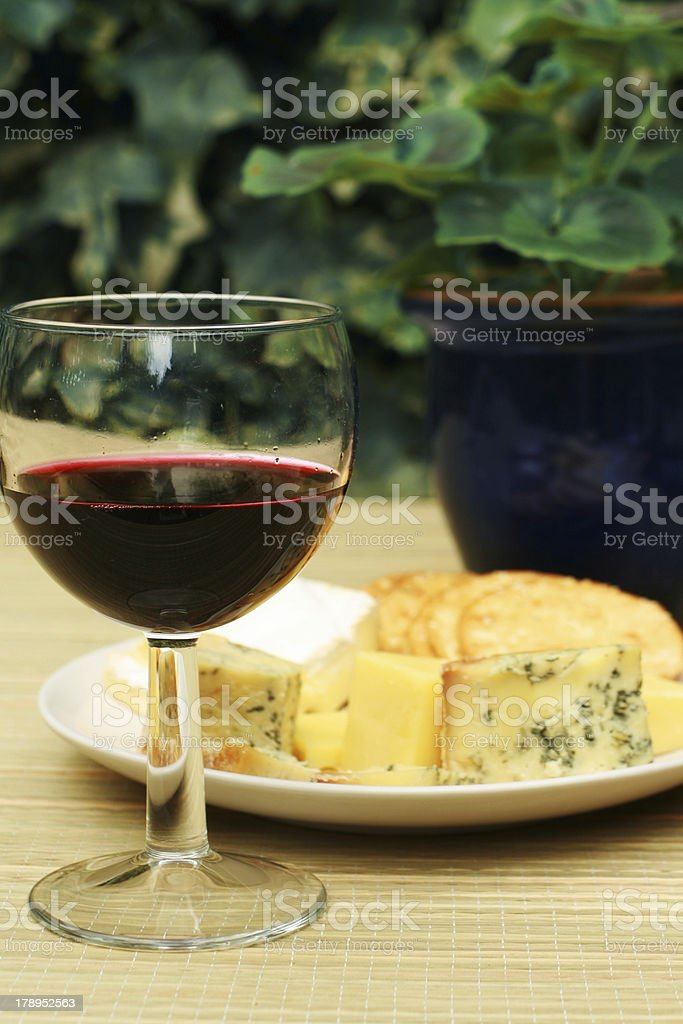 Lunch in the garden royalty-free stock photo