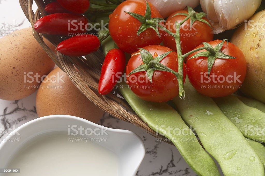 lunch - Mahlzeit royalty-free stock photo