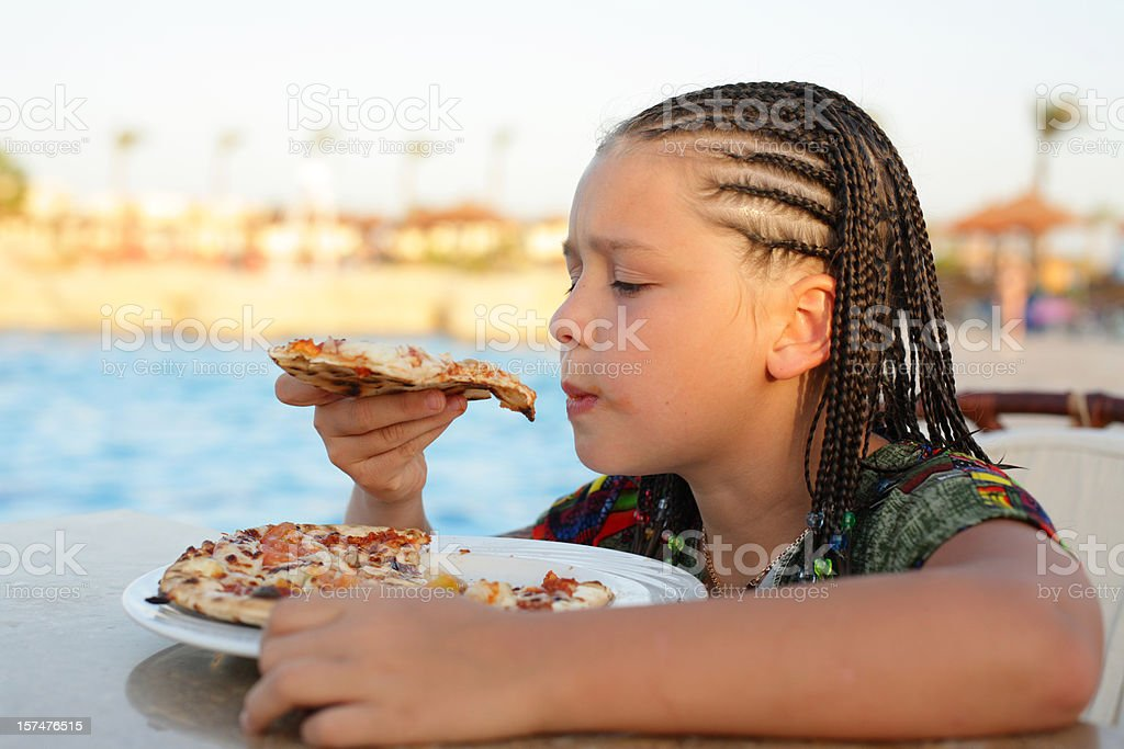 Lunch on the beach royalty-free stock photo