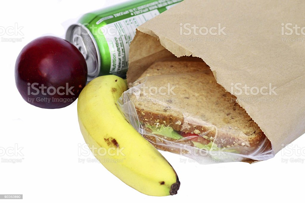 lunch royalty-free stock photo