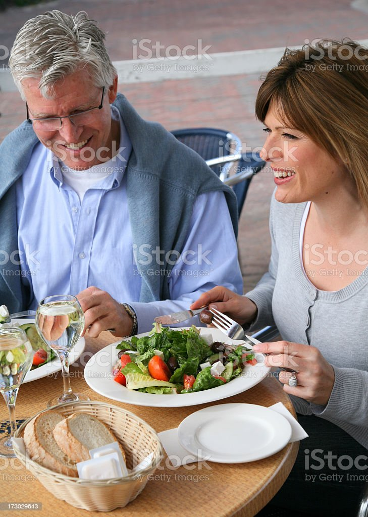 Lunch portraits royalty-free stock photo