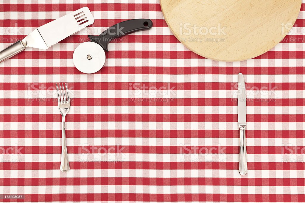 Lunch Table stock photo