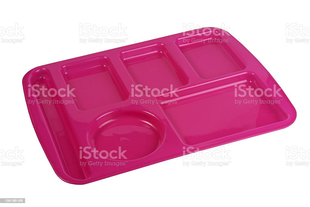 Lunch Tray royalty-free stock photo