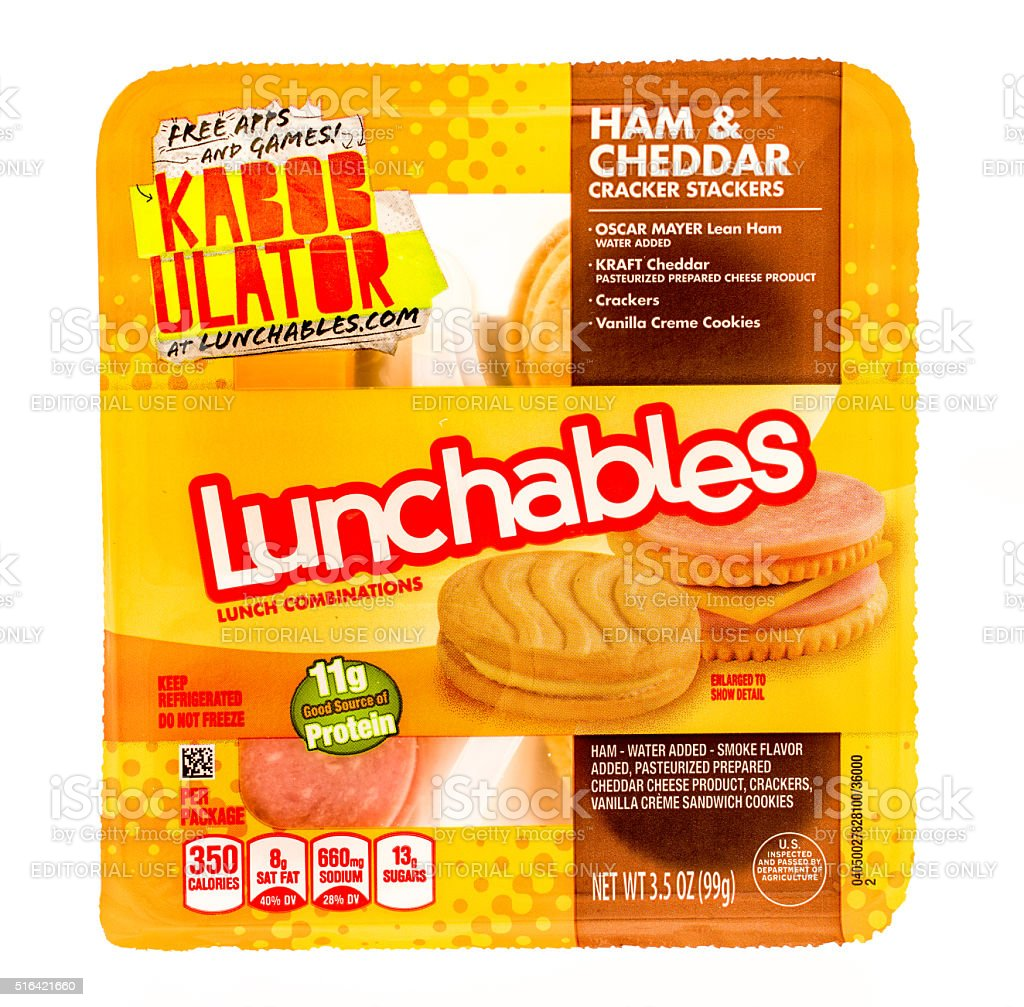 Lunchables stock photo