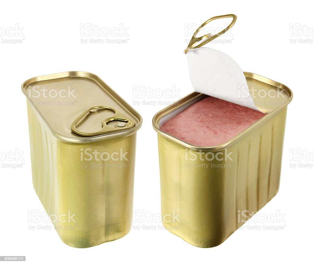 Luncheon Meat stock photo