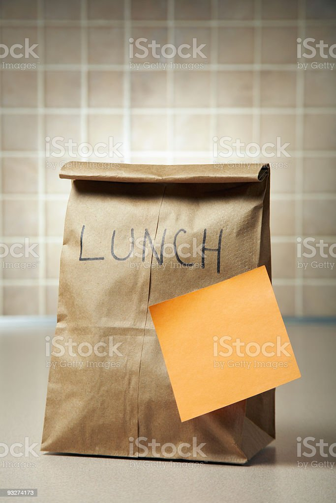 Lunchtime Reminder royalty-free stock photo