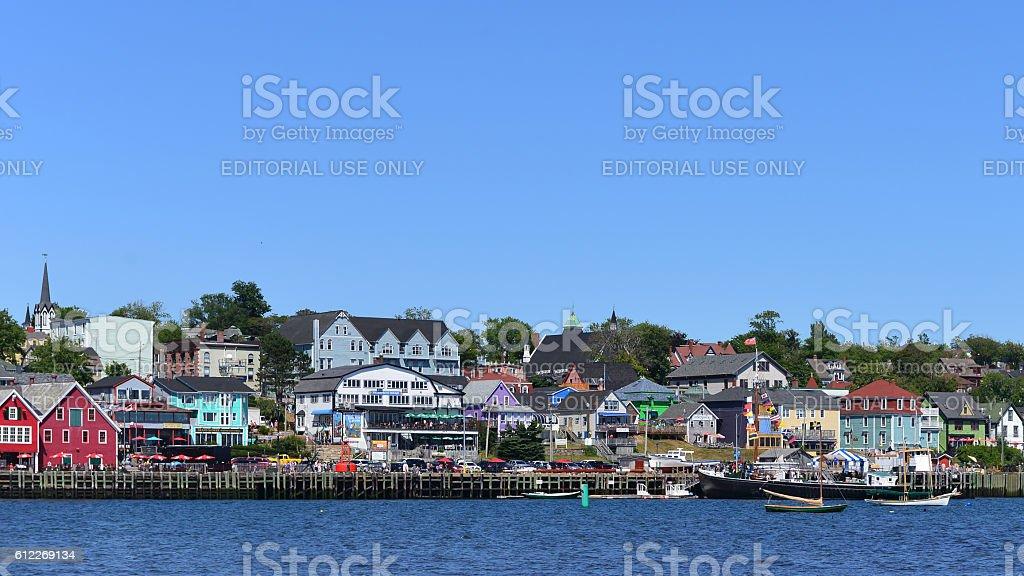 Lunenburg, Nova Scotia, Canada stock photo