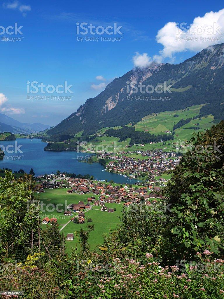 Lungern, Switzerland stock photo