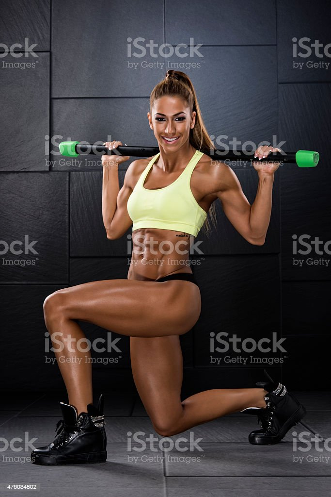 Lunges stock photo