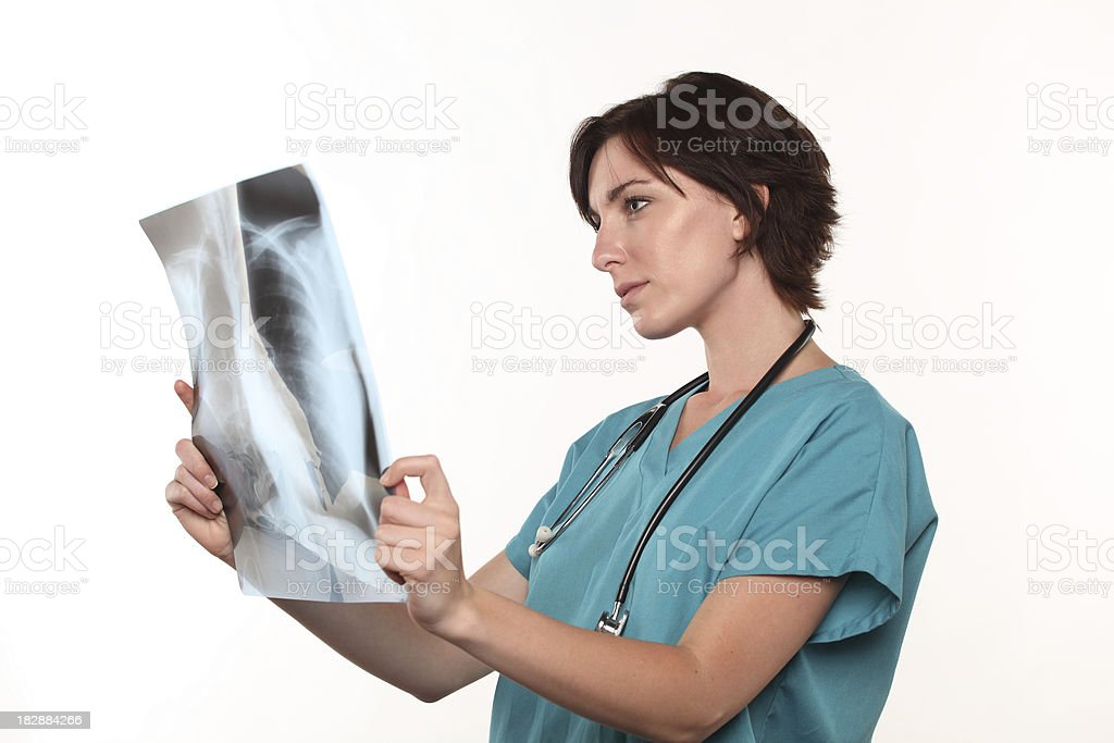 Lungs X-Ray stock photo